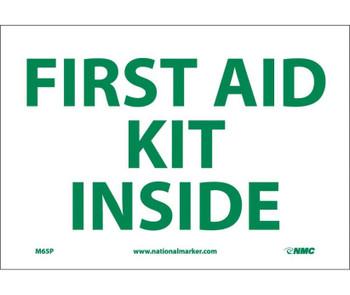 First Aid Kit Inside 7X10 Ps Vinyl