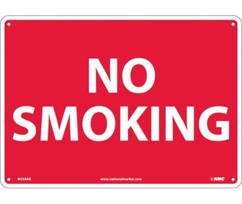 No Smoking 10X14 .040 Alum