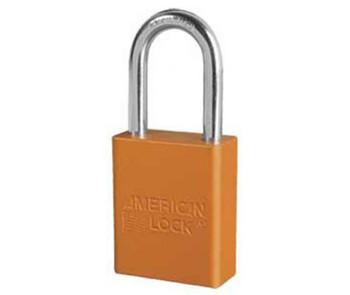 Orange 1.5 Anodized  Alum Lock