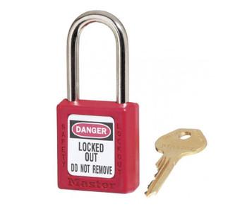 Red 1.75 Zenex Body Safety Lock Keyed Alike 6/Set