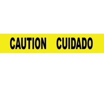 "Tape Barricade Caution Cuidado 3 Mil 3""X1000'"