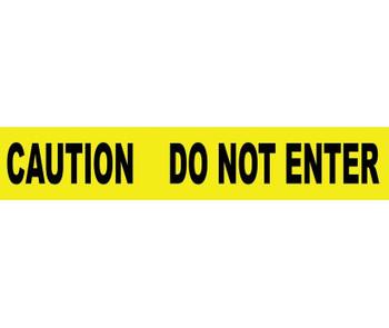 "Tape Barricade Caution Do Not Enter 3 Mil 3""X1000'"