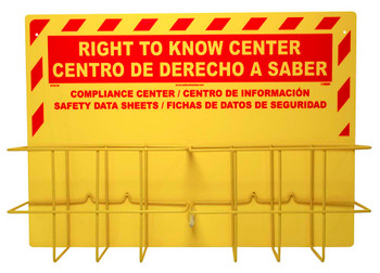 Bilingual Rtk Center Includes Backboard 2 Racks And Mounting Hardware (No Binders)