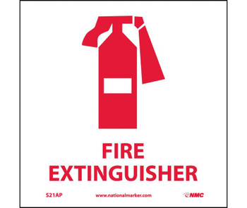 Fire Extinguisher (Graphic) 4X4 Ps Vinyl 5/Pk