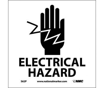 Electrical Hazard (W/Graphic) 7X7 Ps Vinyl