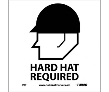 Hard Hat Required (W/Graphic) 7X7 Ps Vinyl