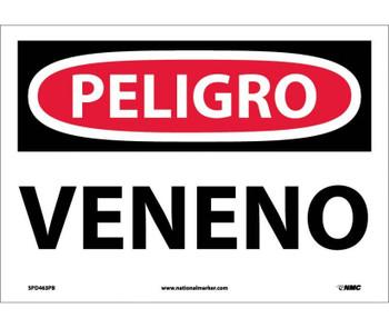 Peligro Veneno 10X14 Ps Vinyl