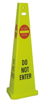 """Floor Sign Do Not Enter 40"""" Tall 3/Cs"""