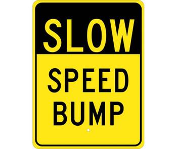 Slow Speed Bump 24X18 .080 Egp Ref Alum