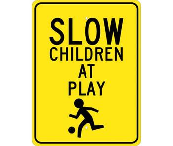 Slow Children At Play (Graphic) 24X18 .080 Egp Ref Alum