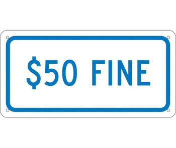 $50 Fine 6X12 .040 Alum