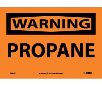 Warning Propane 7X10 Ps Vinyl