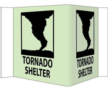 Visi Tornado Shelter 8X14.5  Acrylicglow