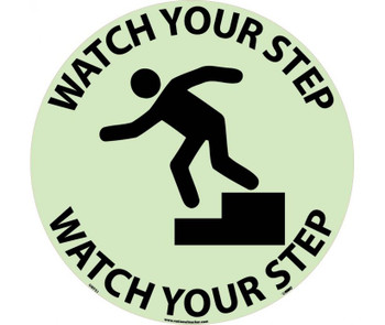 Floor Sign Walk On Watch Your Step 17 Diaglow