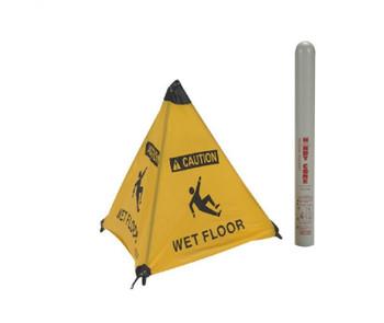 """Handy Cone Floor Sign Caution Wet Floor 18"""""""