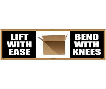 Banner Lift With Ease Bend With Knees 3Ft X 10Ft