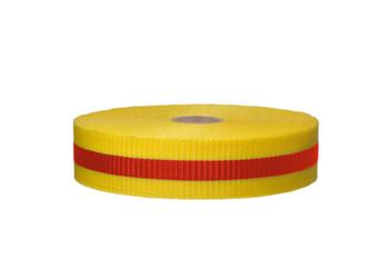 Tape Web Barrier Magenta/Ylw 3/4In X 50Yds