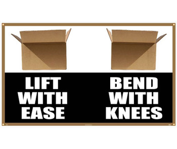 Banner Lift With Ease Bend With Knees 3Ft X 5Ft