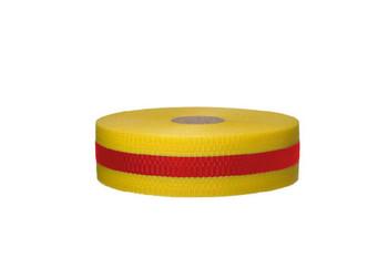 Tape Web Barrier Magenta/Ylw 2In X 50Yds