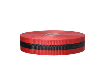 Tape Web Barrier Red/Blk 2In X 50Yds