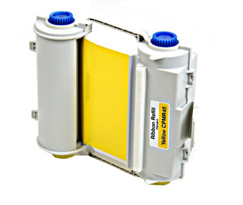 4 2/3 In. X 164 Ft. Outdoor Durable Resin Ribbon Yellow Refillable Cartridge