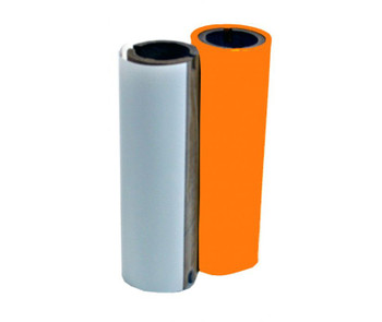 4 2/3 In. X 164 Ft. Outdoor Durable Resin Ribbon Orange Refill