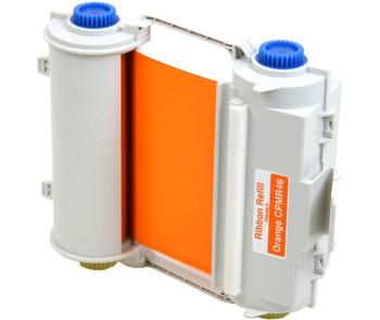 4 2/3 In. X 164 Ft. Outdoor Durable Resin Ribbon Orange Refillable Cartridge