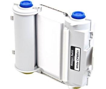 4 2/3 In. X 164 Ft. Durable Resin Ribbon White Refillable Cartridge