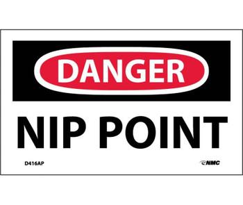 Danger Nip Point 3X5 Ps Vinyl 5/Pk