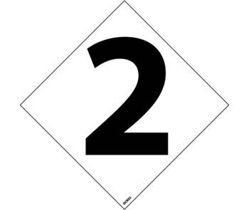 "Hazard Identification System Labels 2 3"" (5/Pk) Ps Vinyl"