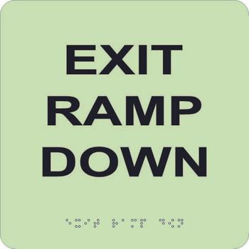 Exit Ramp Down 8X8 Glow Ada