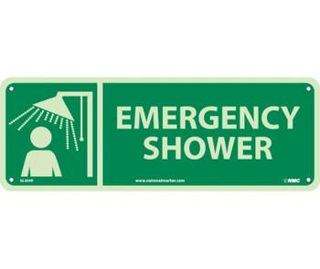 Emergency Shower 5X14 Glow Rigid