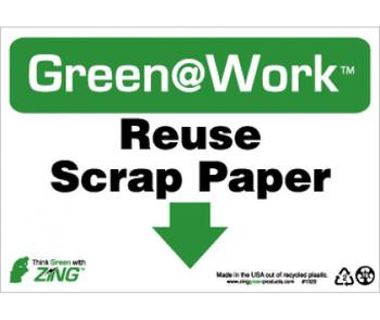 Reuse Scrap Paper 7X10 Recycle Plastic