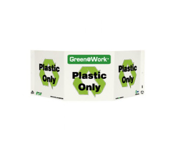 Tri-View Plastic Only 7.5X20 Recycle Plastic