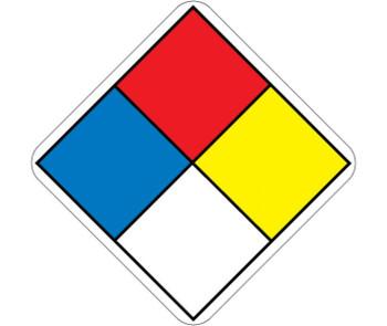 Hazardous Material System Labels 2X2 Ps Paper 250/Rl