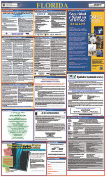 Labor Law Poster Florida (Spanish),State And Federal