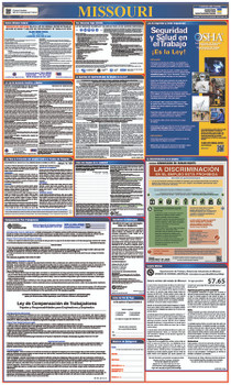 Labor Law Poster Missouri (Spanish),State And Federal