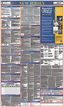 Labor Law Poster New Jersey (Spanish),State And Federal