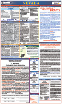 Labor Law Poster Nevada  (Spanish),State And Federal 40X24