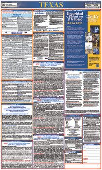 Labor Law Poster Texas (Spanish) State And Federal
