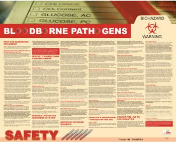 Poster Blood Bourne Pathogens 24X30