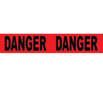 Tape Barricade Danger 3X1000Ft 2 Mil