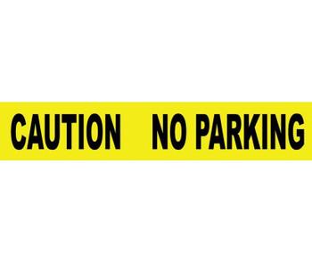 "Tape Barricade Caution No Parking 3 Mil 3""X1000'"