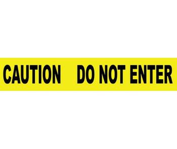 Tape Barricade Caution Do Not Enter 3X1000Ft 2 Mil