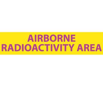 Radiation Airborne Radioactivity 1 3/4X8  Lexan