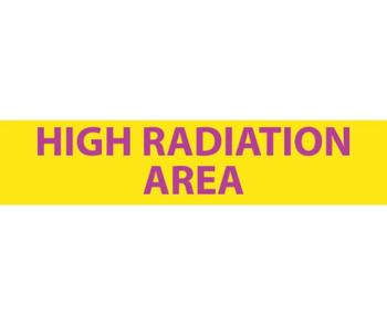 Radiation High Radiation Area 1 3/4X8 Lexan