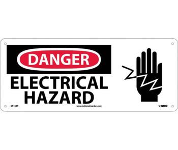 Danger Electrical Hazard (W/Graphic) 7X17 Rigid Plastic