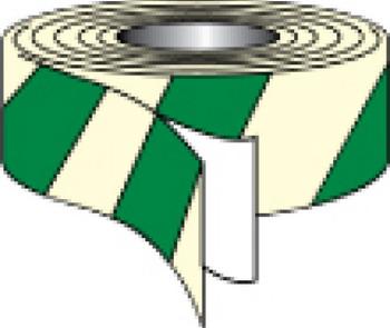 "Tape Glow/Green Stripe 2""X30' (7520-2 Glow/Green Stripe)"
