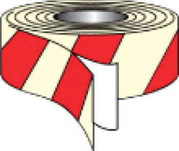 """Tape Glow/Red Stripe 2""""X30' (7520-2 Glow/Red Stripe)"""