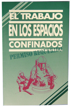 Handbook Confined Space Entry Permit Required Spanish 10/Pk